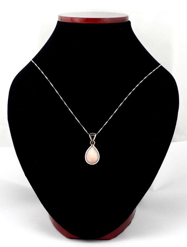 Pink Opal Teardrop Pendant All Crystal Jewelry opal