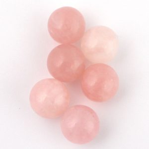 Rose Quartz Sphere 20mm All Polished Crystals pink quartz