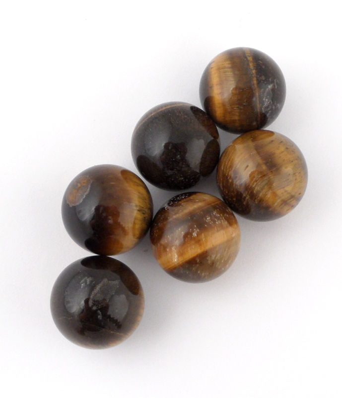 Tiger Eye, Sphere, 20mm All Polished Crystals polished