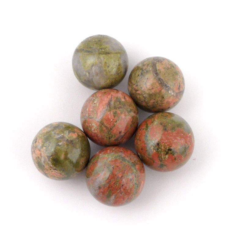 Unakite, Sphere, 20mm All Polished Crystals polished