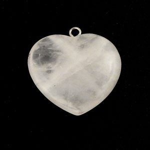 Quartz Heart Pendant All Crystal Jewelry heart
