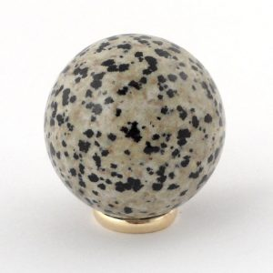Jasper, Dalmatian, Sphere, 40mm All Polished Crystals 40mm