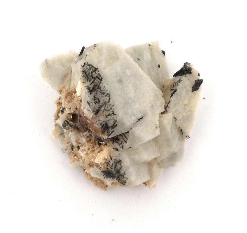 Aegirine in Matrix Mineral Specimen All Raw Crystals acmite