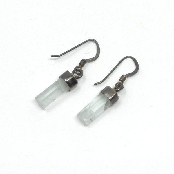 Aquamarine Earrings All Crystal Jewelry aquamarine