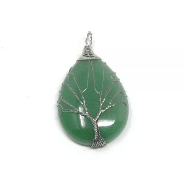 Green Aventurine Pendant All Crystal Jewelry aventurine