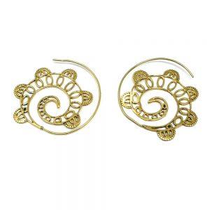 Brass Earring Set All Crystal Jewelry brass