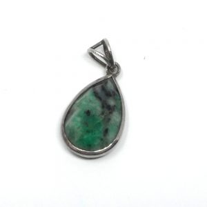 Emerald Faceted Pendant All Crystal Jewelry crystal pendant