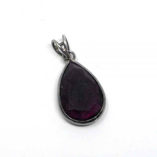 Fluorite Teardrop Pendant All Crystal Jewelry crystal pendant
