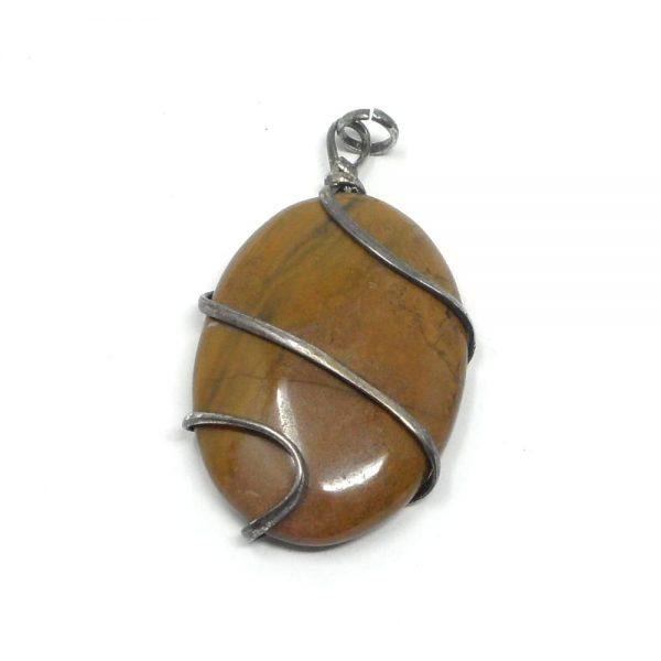 Brown Jasper Pendant All Crystal Jewelry brown jasper
