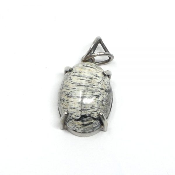 Petrified Ivy Pendant All Crystal Jewelry fossil pendant