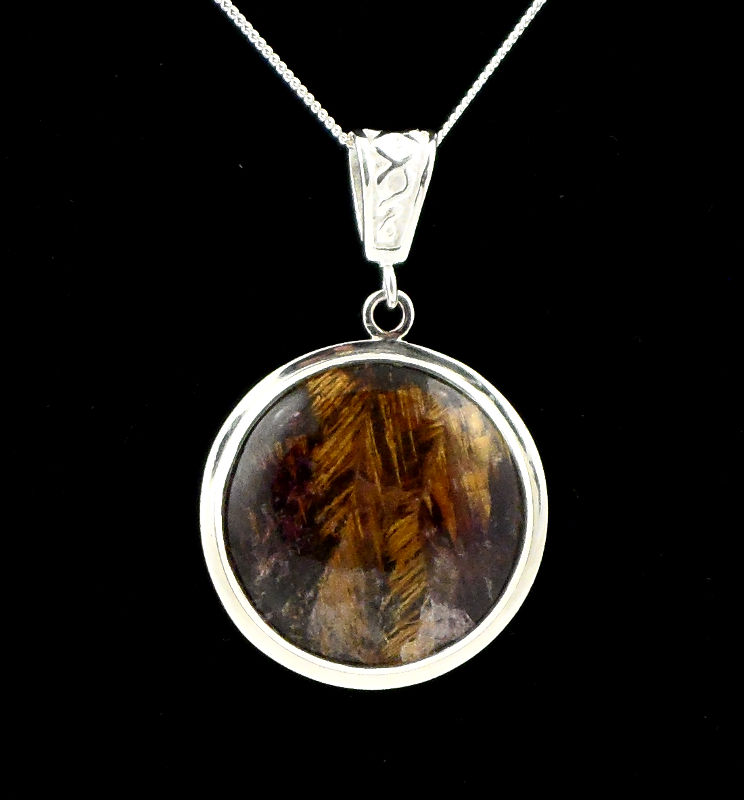 Cacoxenite Amethyst Necklace All Crystal Jewelry amethyst