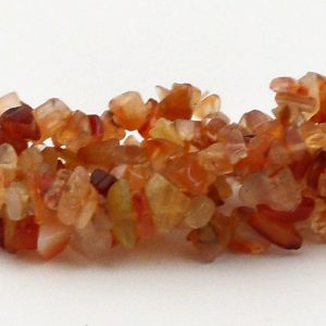 Carnelian 3-Strand Chip Bracelet All Crystal Jewelry bracelet