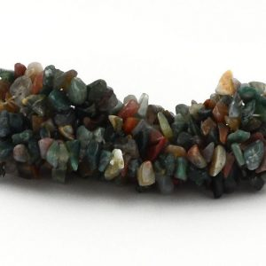 Fancy Jasper 5-Strand Chip Bracelet All Crystal Jewelry bracelet