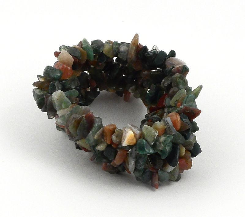 Fancy Jasper 5-Strand Chip Bracelet All Crystal Jewelry bracelet