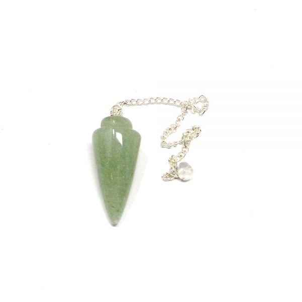 Aventurine Rounded Point Pendulum All Specialty Items aventurine