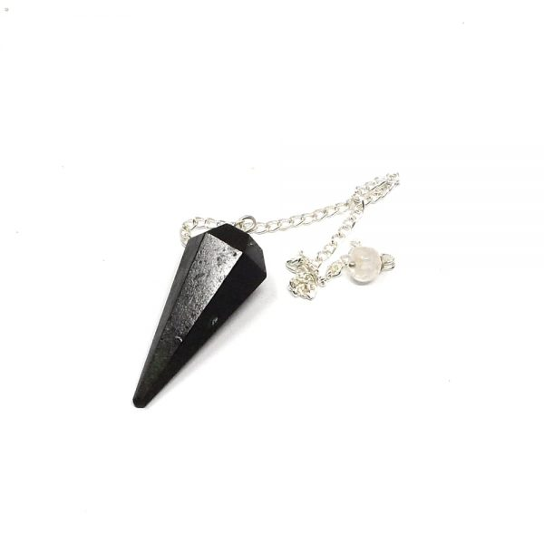 Black Tourmaline Point Pendulum All Specialty Items black tourmaline