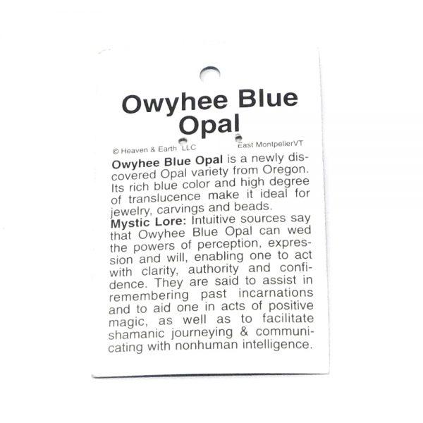 Wire Wrapped Pendant, Owyhee Blue Opal Pendant All Crystal Jewelry blue opal pendant