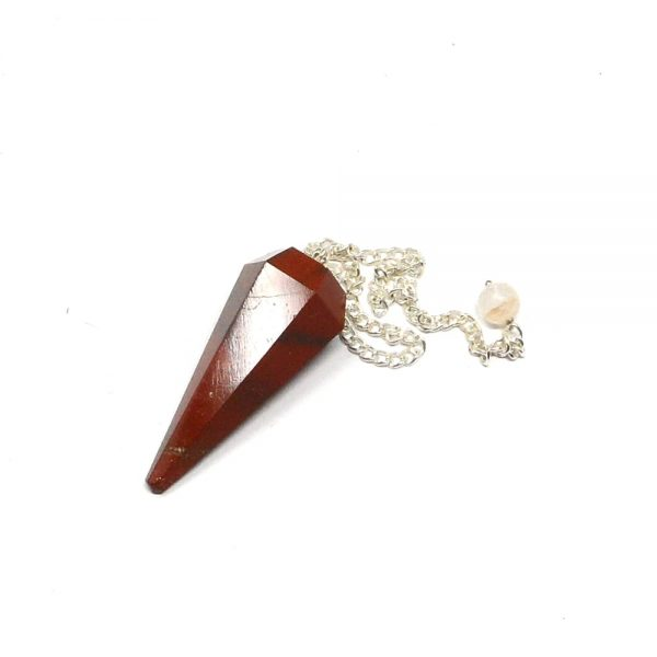 Red Jasper Point Pendulum All Specialty Items crystal pendulum