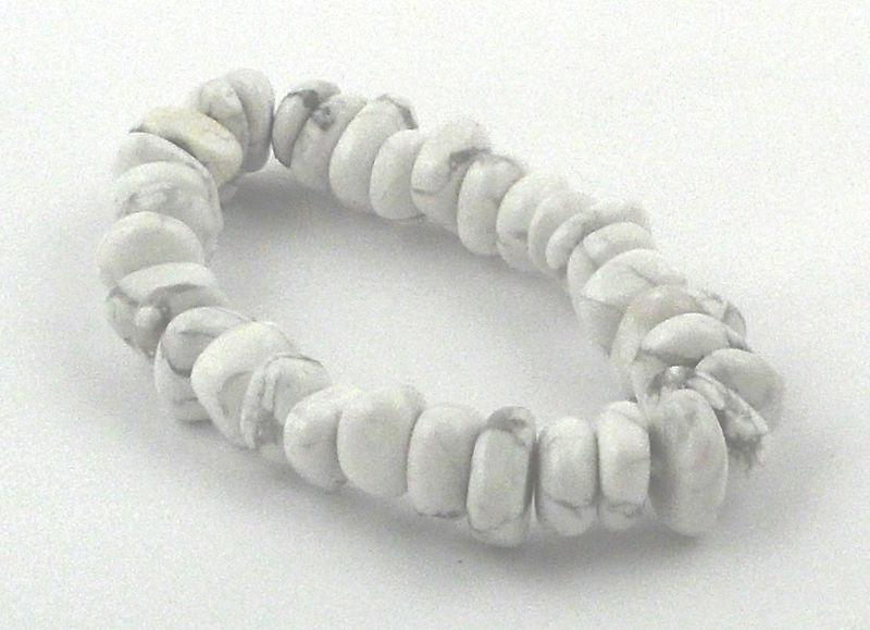 Howlite Heishi Bracelet All Crystal Jewelry bracelet