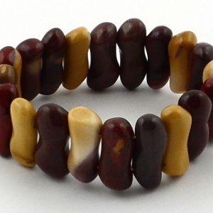 Mookaite Small Peanut Bracelet Crystal Jewelry bracelet