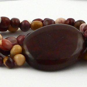 Mookaite Wafer Bracelet Crystal Jewelry bracelet