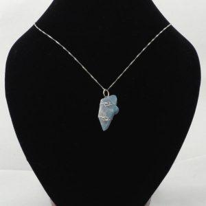 Owyhee Blue Opal Pendant Crystal Jewelry owyhee blue opal