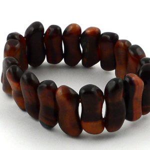 Red Tiger Eye Small Peanut Bracelet All Crystal Jewelry bracelet