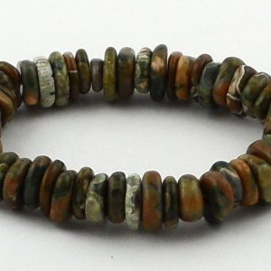Rhyolite Heishi Bracelet All Crystal Jewelry bracelet