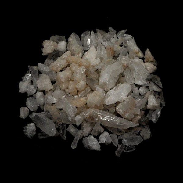 Quartz Points and Pieces 16oz All Raw Crystals bulk quartz