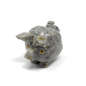 Soapstone Pig All Specialty Items crystal pig
