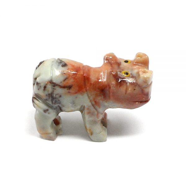 Soapstone Hippopotamus All Specialty Items crystal hippo