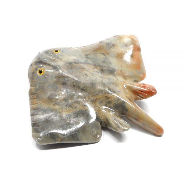 Soapstone Manta Ray All Specialty Items crystal manta ray