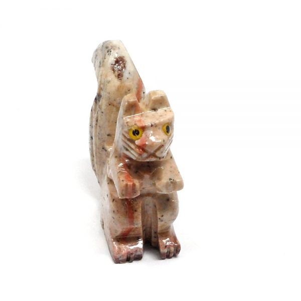 Soapstone Squirrel All Specialty Items crystal squirrel