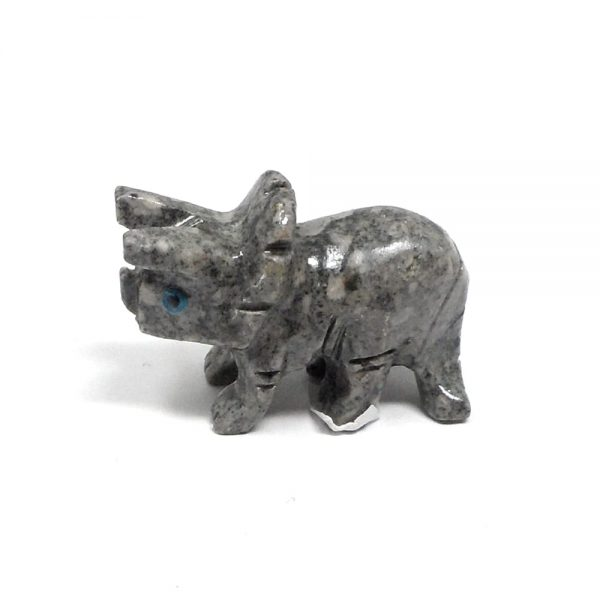 Soapstone Triceratops All Specialty Items carved dinosaur