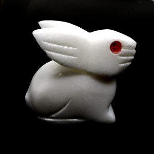 White Jade Rabbit New arrivals crystal animal