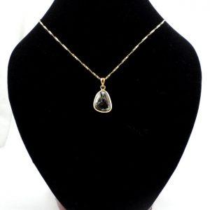 Astrophyllite Bronze Pendant Crystal Jewelry astrophyllite