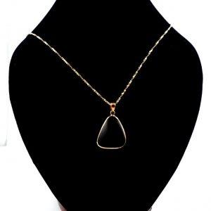 Rainbow Obsidian Bronze Pendant All Crystal Jewelry obsidian