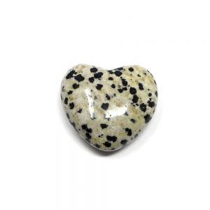Dalmatian Jasper Puffy Heart 30mm All Polished Crystals crystal heart