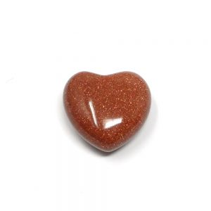 Goldstone Puffy Heart 30mm All Polished Crystals crystal heart