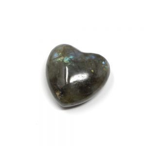 Labradorite Puffy Heart 30mm All Polished Crystals crystal heart