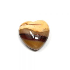 Mookaite Puffy Heart 30mm New arrivals crystal heart