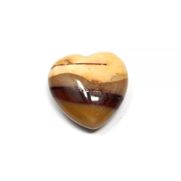 Mookaite Puffy Heart 30mm All Polished Crystals crystal heart