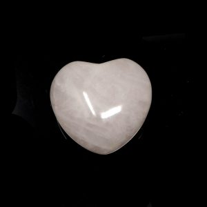 Rose Quartz Puffy Heart 30mm All Polished Crystals crystal heart