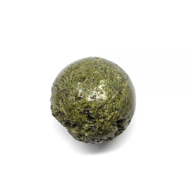 Green Epidote Sphere 40mm All Polished Crystals crystal sphere