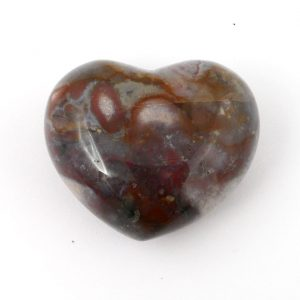 Jasper, Fancy, Puffy Heart, 45mm Polished Crystals fancy jasper