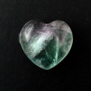 Fluorite, Heart All Polished Crystals
