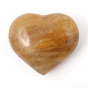 Hematoid Quartz Heart All Polished Crystals heart