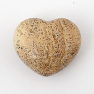 Picture Jasper Heart 45mm All Polished Crystals heart