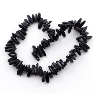Purple Goldstone Tooth Bead Strand All Crystal Jewelry bead