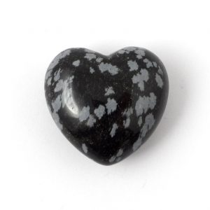 Obsidian, Snowflake, Heart All Polished Crystals